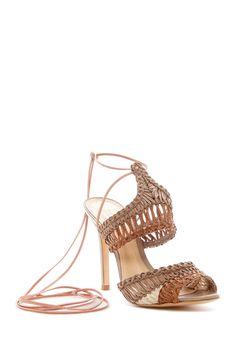 Super cute Schutz Mula Woven Sandals