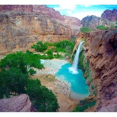 Havasupai Falls is an absolute must for any adventure traveller.  @ahjulia shares her recent trip to the Grand Canyon landmark in Arizona as part of our latest post in the Do It Before You Die blog series. Check it out! -------------------------------------- www.thisworldexists.org/blog --------------------------------------