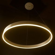 LED circle pendant is an aluminium and acrylic pendant that would suit a feature light situation. Edison Lighting, Overhead Lighting, Dining Room Lighting, Home Lighting, Pendant Lighting, Lighting Ideas, Globe Lights, Light Globes, Round Crystal Chandelier
