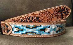 Loom Bracelet Patterns, Loom Bracelets, Beaded Belts, Fun Stuff, Turquoise Bracelet, Beads, Accessories, Jewelry, Fun Things