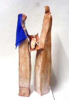 Terracotta titolo Natività Misure 38x13x9