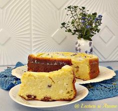 Pasca fara aluat si fara gluten New Recipes, Cooking Recipes, Just Bake, Powdered Sugar, Cornbread, French Toast, Cheesecake, Gluten Free, Sweets