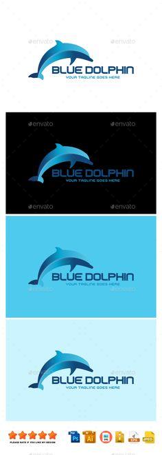 Blue Dolphin - Logo Templates