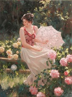 *Cottage Fence* ~ by Richard S. Johnson ♡♥