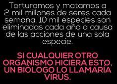 ¿Humanos o Virus?