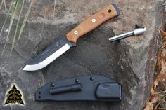 TOPS Knives B.O.B. Brothers of Bushcraft Fieldcraft Knife, BROS-01. The Fieldcraft Knife was designed by The Brothers of Bushcraft, a coalition of men across North America focusing on sharing wilderness living skills of all categories. From tracking, to building shelters, the Brothers of Bushcraft make it a point to show the skills to all people, of all ages, from all over.