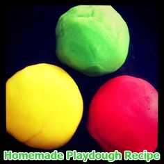 Best homemade playdough recipe via Childhood 101