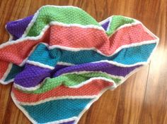 Hey, I found this really awesome Etsy listing at https://www.etsy.com/listing/241208049/handmade-knit-textured-striped-blanket