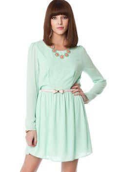 2 left. ShopSosie Style : Reese Dress in Mint