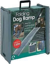 Folding Dog Travel Ramp Car Portable Pet Compact Light Weight New Free Shipping