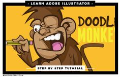 Full step by step Beginner Adobe Illustrator Tutorials that are easy to follow for new users learning the tools and program.