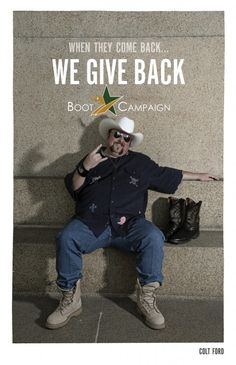 Colt Ford says get your Boots on! Get YOUR Boots on! @Elijah Anderson http://www.bootcampaign.com