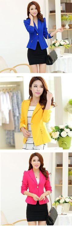 Recuera que en tu #closet no debe de faltar un #saco / #blazer. Ideal para todas las ocasiones. ¿Qué color te ha gustado? Encuéntralos en nuestro sitio.