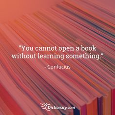 Open and read more books.