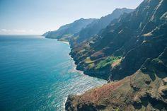 Napali Coast Kauai, HI [2160 x 1440] [OC] - Imgur