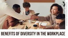Header image for Benefits of Diversity in the Workplace, with photo of a young, diverse, dynamic, inclusive workforce. Co-workers from different ethnicities and backgrounds working together | Diversity and inclusivity means hiring a wide range of people from different backgrounds and making sure that they are treated equally. It is accepting and respecting each other's differences · Grade 12 Business Studies with Nonjabulo Tshabalala, Qualified South African Business Studies teacher. NSC… Content Manager, Projekt Manager, High Emotional Intelligence, Workplace Productivity, Personal Achievements, Business Studies, Bible Love, Flexible Working, Woman Smile