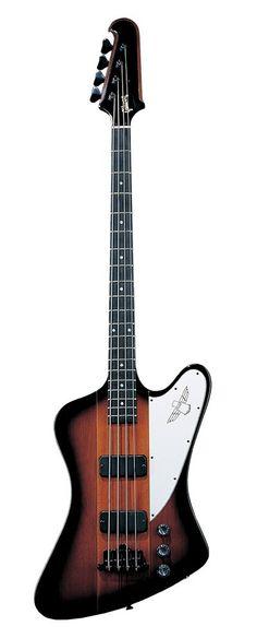 Gibson Thunderbird IV 4 String Bass Guitar Vintage Sunburst #gibson #bass #guitar
