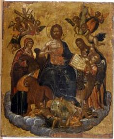 Byzantine and Christian Museum Byzantine Art, Byzantine Icons, Religious Icons, Religious Art, Friedrich Ii, Christ Pantocrator, Images Of Christ, Religious Paintings, Getty Museum