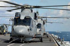 Augusta Westland Merlin Mk 2 of Royal Navy Fleet Air Arm.