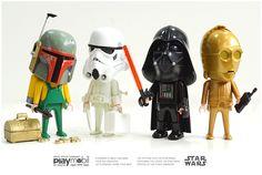 starwars+playmobil / photobyamon