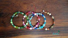 """Bracelet multicolore """"Narayani"""" : Bracelet par bijoux-colibri"""