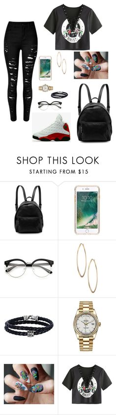 """""""1"""" by bbyunicorngirl ❤ liked on Polyvore featuring STELLA McCARTNEY, Griffin, Lydell NYC, Phillip Gavriel and Rolex"""