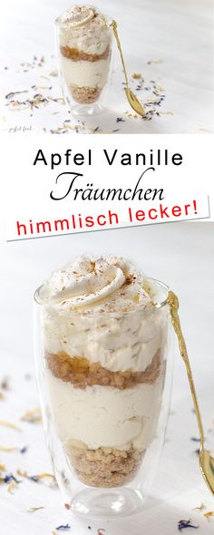 Apfel Vanille Träumchen Apple-vanilla-dumplings doubled amount for 6 portions ch would use slightly less sugar for the apples, the dessert overall was very sweet Apple Recipes, Sweet Recipes, Cake Recipes, Dessert Recipes, Pizza Recipes, Thermomix Desserts, Egg Recipes, Dessert Simple, Food Cakes