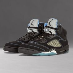 """2a249e9fd194 Sneaker Bar Detroit on Instagram  """" SneakerTalk The now-classic Air Jordan  5 in its Black University Blue colorway was released only once back in  August ..."""