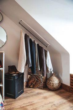 Small Attic Bed room Design - Inside Design Bed room Concepts for . Attic Bedroom Decor, Attic Bedroom Small, Attic Bedroom Designs, Budget Bedroom, Closet Designs, Design Bedroom, Bedroom Ideas, Attic Bathroom, Attic Closet