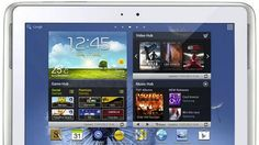 """Samsung Galaxy Note 10.1 """"phablet"""" makes US debut"""