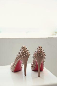 Spiked shoe fierceness   Photography by http://shewanders.com
