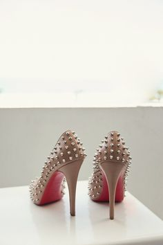 Spiked shoe fierceness   Photography by http://shewanders.com