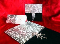 Crystal Wedding Invitation - Swarovski Crystal