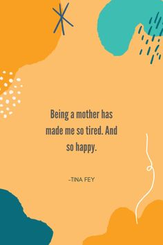 Tina Fey said it best. 👏 #lifeasamama #realmotherhood #momstruggles