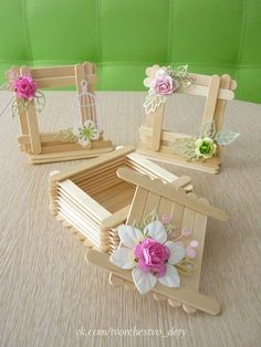 carterie, pergamano et tableaux – Page 21 - Gift Ideas 2019 Kids Crafts, Craft Stick Crafts, Easy Crafts, Diy And Crafts, Popsicle Crafts, Plate Crafts, Wooden Crafts, Resin Crafts, Craft Items