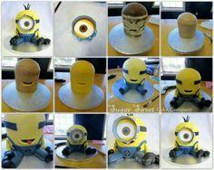 minion cake tutorial