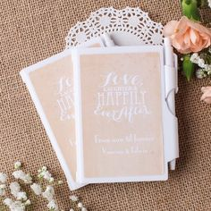 Personalized Wedding Themed Notebook by Beau-coup