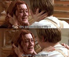 Titanic my favorite movie of all time Titanic Quotes, Titanic Movie, Rms Titanic, Movie Tv, Titanic Leonardo Dicaprio, Young Leonardo Dicaprio, Favorite Movie Quotes, Love Scenes, Movie Couples