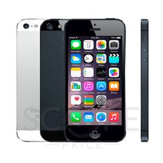 New in Sealed Box Factory Unlocked APPLE iPhone 5 Black/Slate, White/Silver 16/32/64 GB 4G Smartphone.