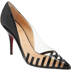 These Christian Louboutin pumps are giving us serious shoe envy.