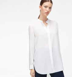 SMART SILK BLOUSE