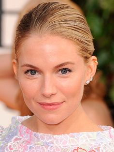 If you're comfortable with minimal makeup then embrace it like Sienna Miller and let your wedding day glow show! Good brow definition and a healthy flush of blusher on the apples of your cheeks will enhance your natural beauty without masking it. Makeup must have: Pixi Natural Brow Duo, £12.50, Pixi  -Cosmopolitan.co.uk