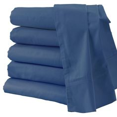 Design Weave Outlast Temperature Regulating Sheet Set Midnight Blue, Size: California King - SA-300SCK-MID