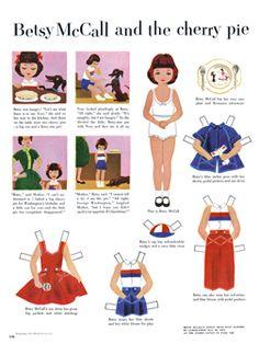 Free Vintage Paper Dolls 2