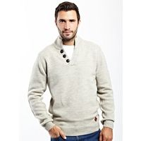 Chunky V Neck Jumper is perfect for keeping stylish in the cold.