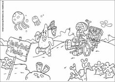 mermaidman and barnacle boy coloring pages   Super Hero From Bikini Bottom coloring picture for kids ...