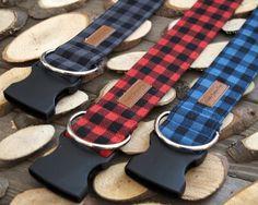 Lumberjack Mini Buffalo Plaid Dog Collars Pet Accessories, Dog Toys, Cat Toys, Pet Tricks
