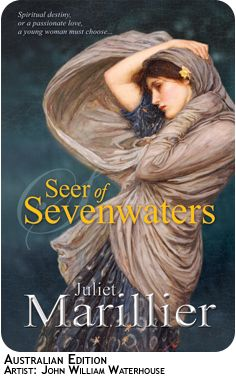 Book 5 of Sevenwaters Forest! I actually havent read yet! A must read for me soon!