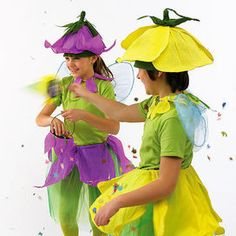 Costumi per Carnevale fai da te: bambine in fiore - Bambini 4-12 | Donna Moderna