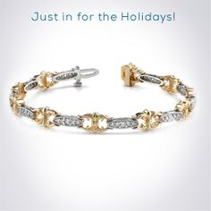 Diamond Tennis Bracelets by HadarDiamonds.com .  Light up her wrist this Christmas with the luxury gift of a diamond tennis bracelet.  Tennis bracelets are available in all price ranges.  #tennisbracelets #diamondjewelry